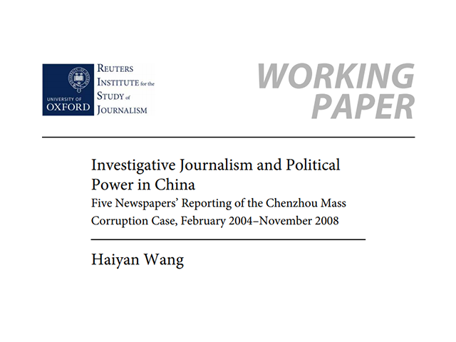 investigative journalism and democracy relationship