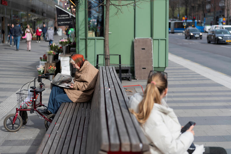 bench in sweden