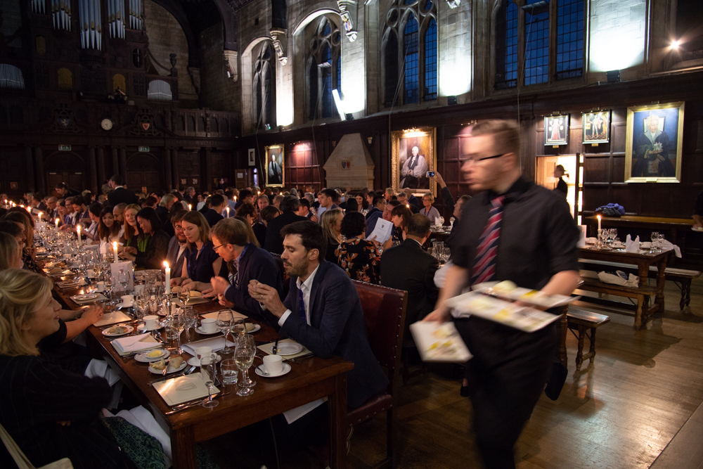 Dinner at Balliol College
