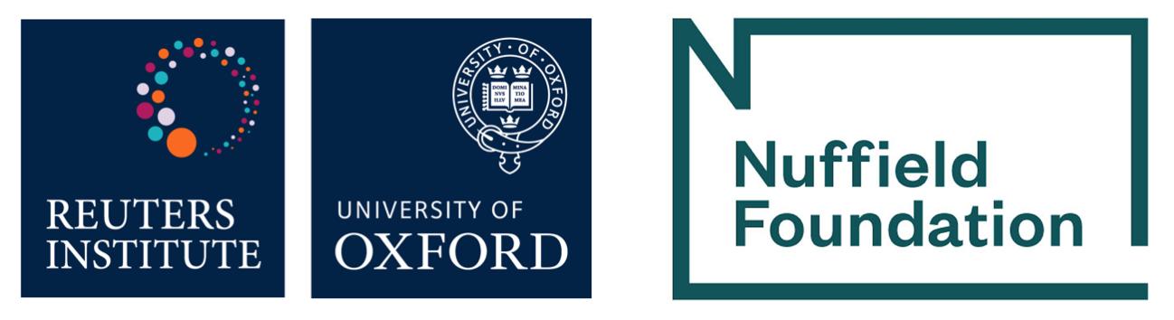 RISJ Nuffield logos