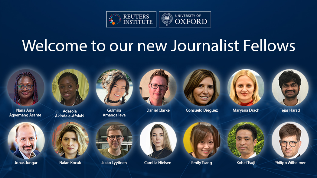 New Journalist Fellows