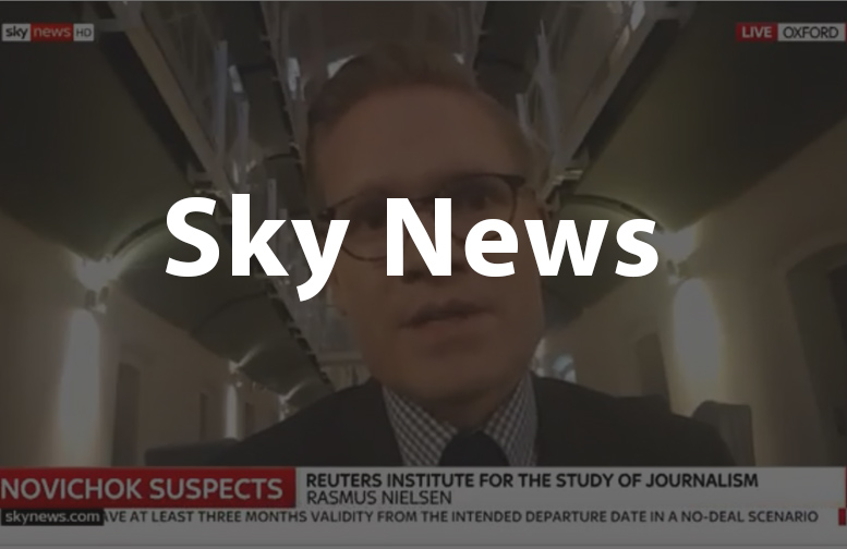 Rasmus Nielsen on Sky News