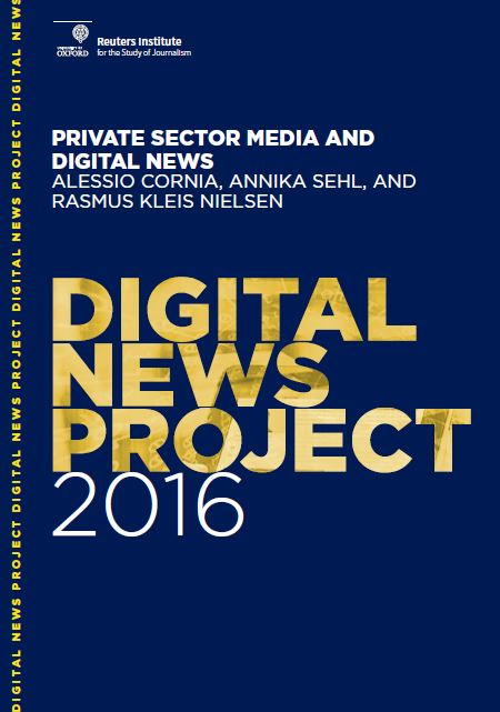journalism and digital media Journalism, media, and technology trends and predictions 2018 posted by nic newman research associate, reuters institute for the study of journalism on january 10, 2018 executive summary.