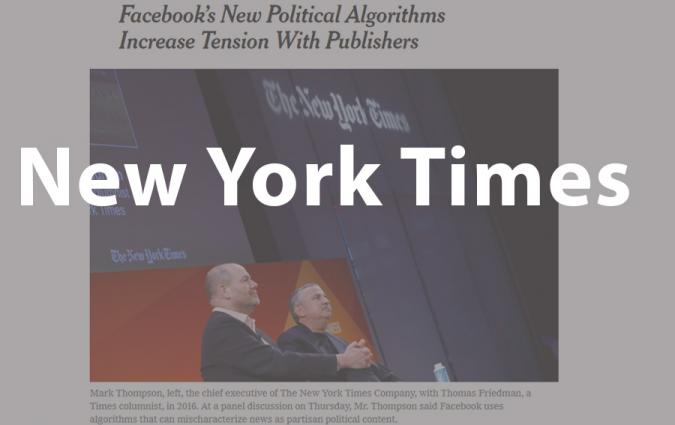 New York Times Facebook clip