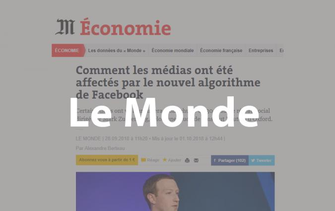 How commercial news organisations use social media - Le Monde