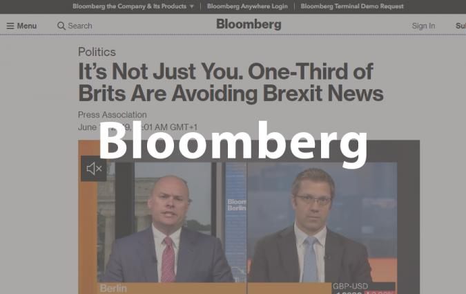 Bloomberg, 12 June 2019   Reuters Institute for the Study of