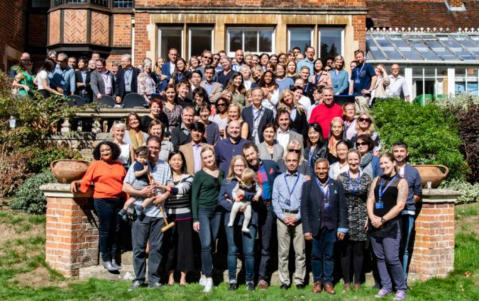 Journalist Fellows at the 35th anniversary of the fellowship programme, September 2018. / Julia Massey Stewart.