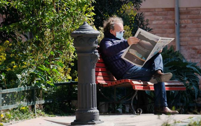 Venice. Newspapers