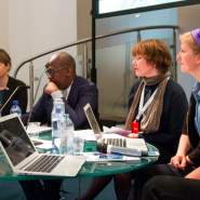 Journalism Fellows present their research at the International Journalism Festival (IJF), 2018